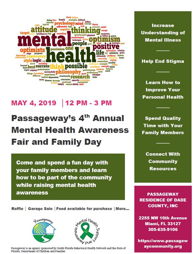 2019 - 4th Annual Mental Health Fair