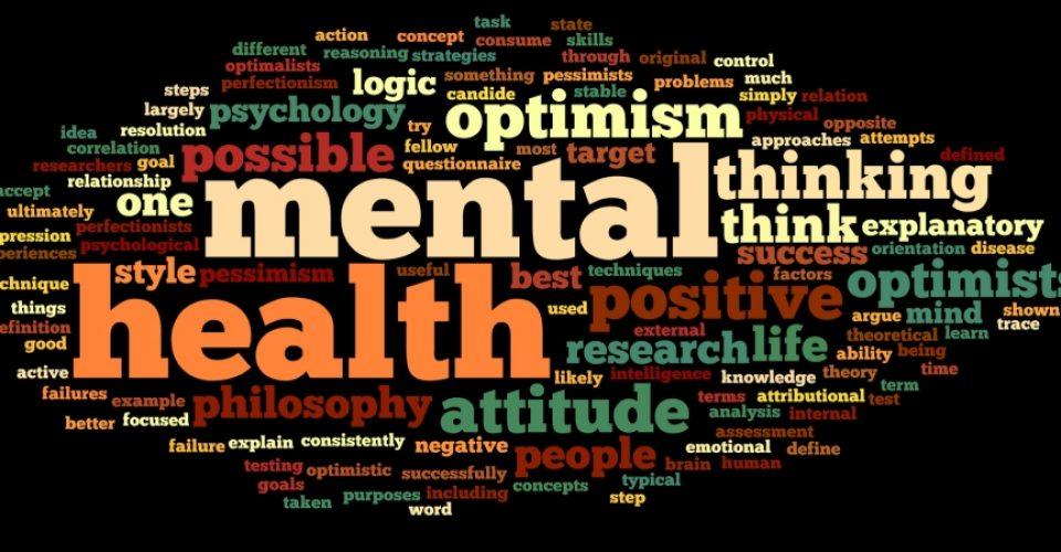 Passageway Mental health word cloud